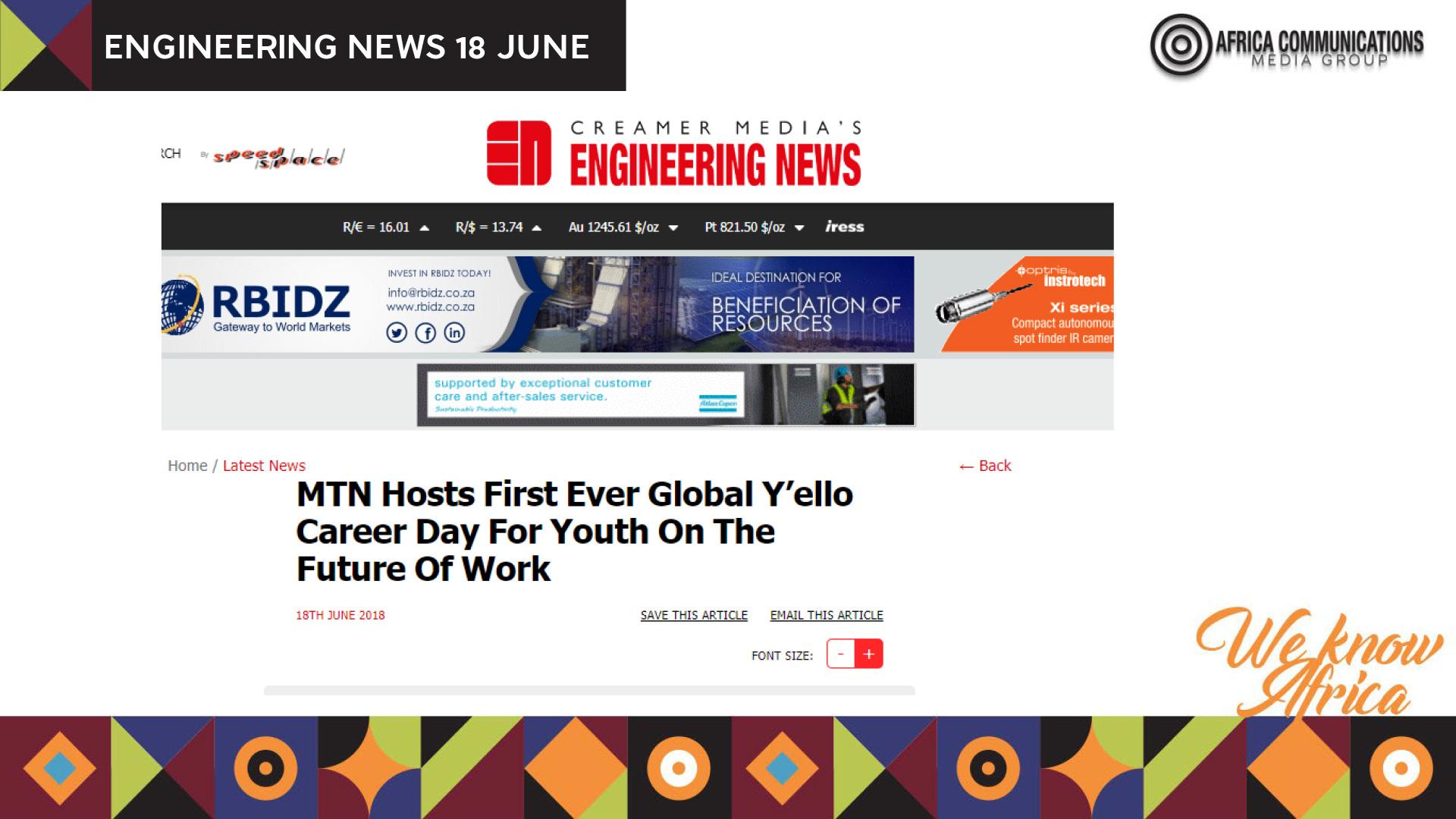 MTN – Africa Communications Media Group