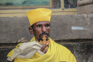 An-orthodox-Bealiver-praying-outside-a-church-in-Addis-Ababa